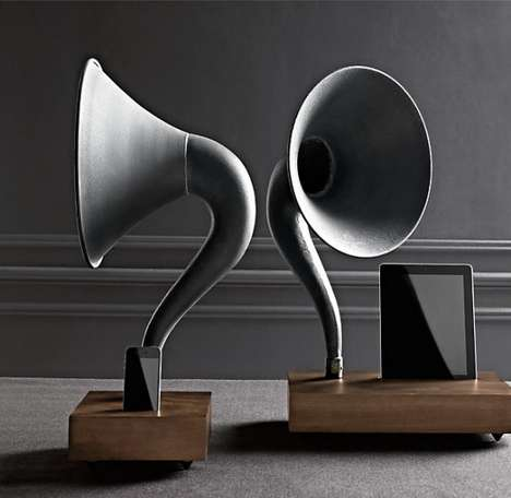 Phonograph Tune Speakers