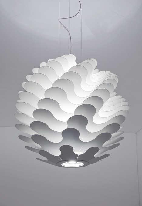 Undulating Spherical Lighting