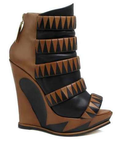 Geometric Graphic Shoes