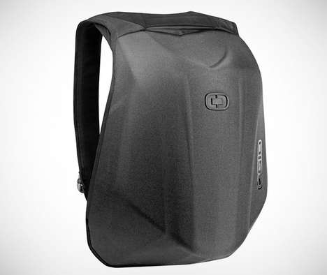 Aerodynamic Biker Knapsacks
