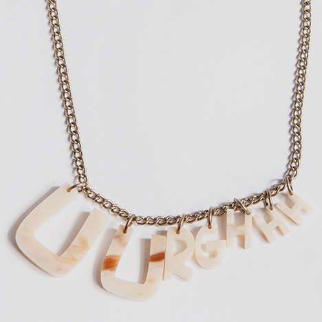 Bone-Made Moaning Necklaces