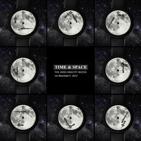 Lunar-Faced Timepieces