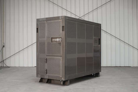 Heavy-Duty Portable Cubicles