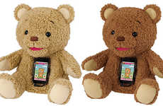 Smartphone-Embedded Plush Toys - The Cocolo Bear is Made for Tech-Savvy Children