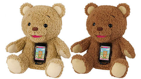 Smartphone-Embedded Plush Toys