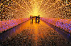 LED Landscape Scenery
