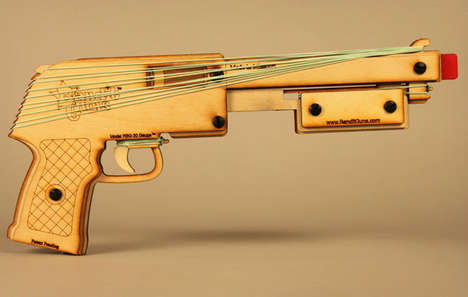 Retro Wooden Shotguns