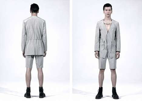 Edgy Utilitarian Menswear
