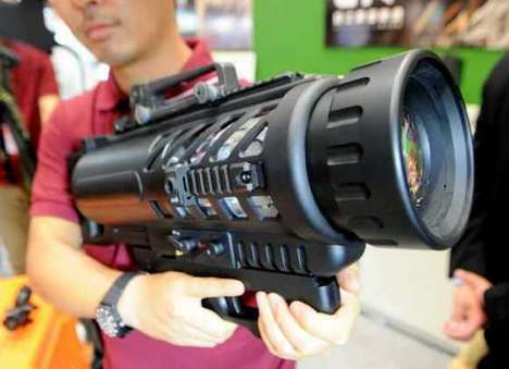 Blazing Light Bazookas - The Dogstar Portable LED Searchlight Packs Some Serious Power