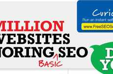 Internet Search Ranking Infographics - Many Sites are Still Ignoring the Importance of SEO