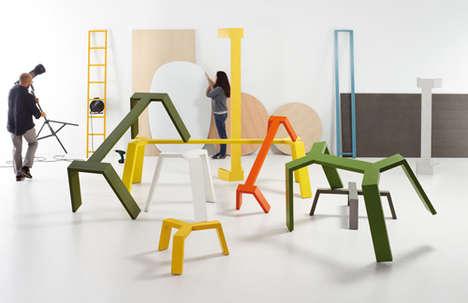 Playful Vibrant Furniture