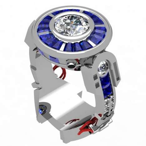 Galactic Proposal Jewelry