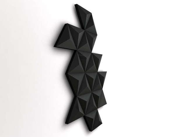 Wall Art Heaters : Black Diamond Radiator