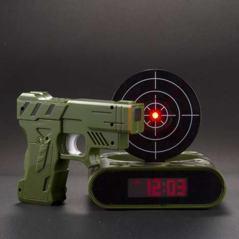 Shooting Practice Alarms