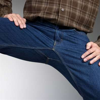 Crotch-Friendly Denim - Crouch Without Constriction in the 'Ballroom' Jeans