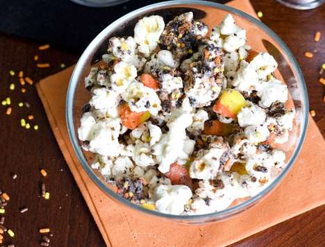 Sweet Popped Candied Corn