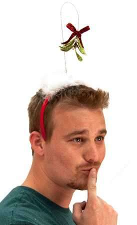 Festive Kissing Head Gear
