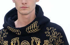 Haute Holiday Sweaters - The Osklen Fall/Winter collection is Elegantly Ornate
