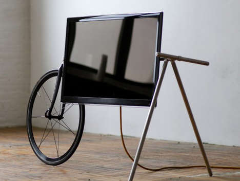 Bicycle-Fused Flatscreen Mounts