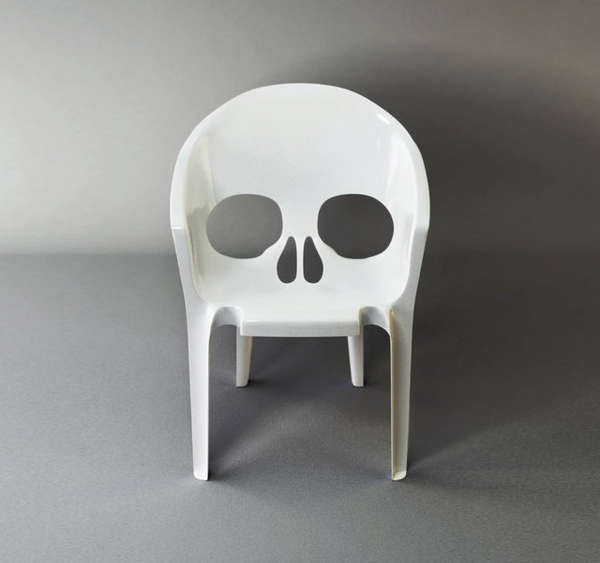 56 Examples of Skeletal Decor