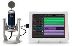 Tablet Microphones Add-Ons - The Spark Digital Microphone Turns the iPad into a Sound Studio