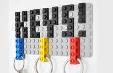 DIY LEGO Key Hangers - Felix Grauer Creates a Playful Project for the Home