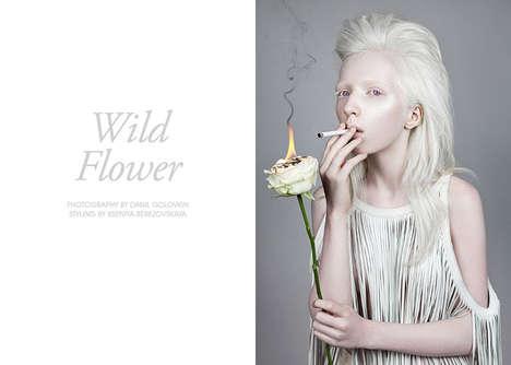 Fiery Floral Editorials