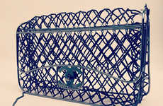Couture Confined Cage Purses - The New Chanel Bag has Obvious Avian Inspiration