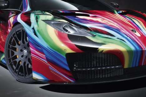 Technicolor Sports Car Makeovers