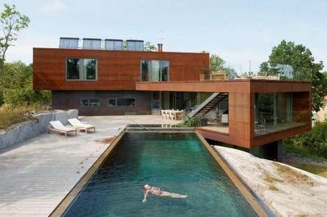 Living Material Modern Homes