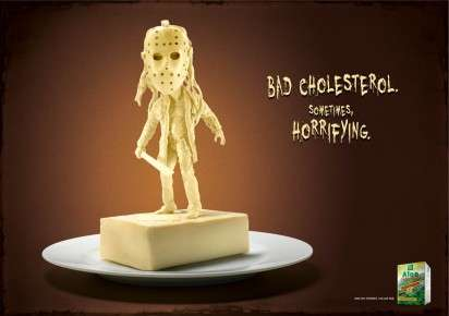 Villainous Butter Sculpture Ads