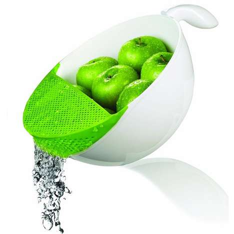 Dual-Purpose Food Strainers