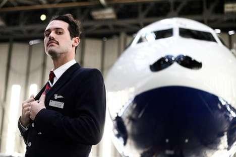 Movember-Inspired Flights