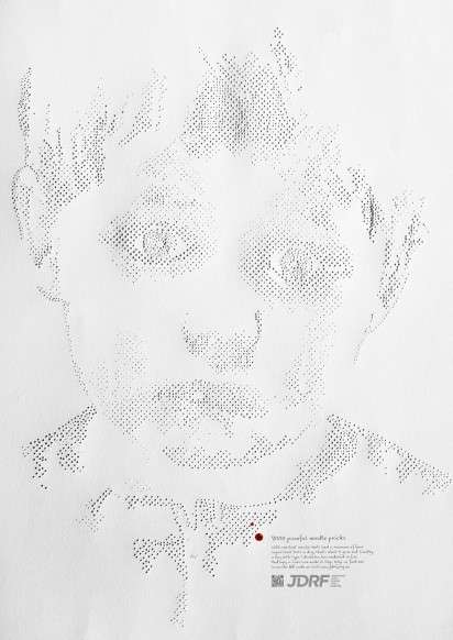 Perforated Portrait Ads