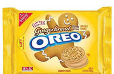 Creamy Packaged Christmas Cookies - The Gingerbread Oreos Will Only be Sold for a Limited Time