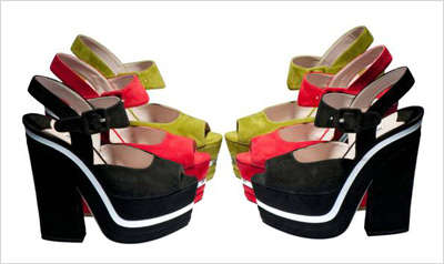 Extravagantly Groovy Pumps