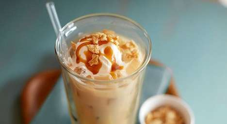 Chilled Cereal-Flavored Java