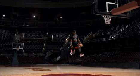 Kyrie Irving Gets Stuck in Mid-Air in This Foot Locker Ad