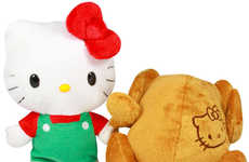Fowl-Transforming Cat Toys - Hello Kitty Reversible Turkey is a Quirky Thanksgiving Toy