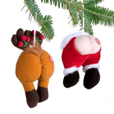 Cheeky Flatulent Ornaments