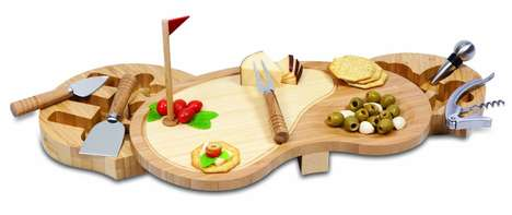 Golf-Themed Food Platters