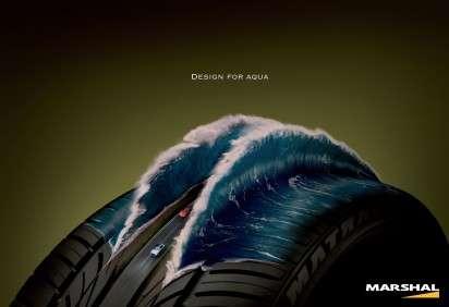 Tire Diorama Ads