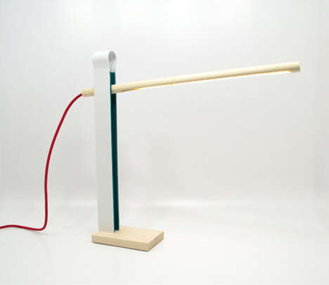 Clothespin-Inspired Lighting
