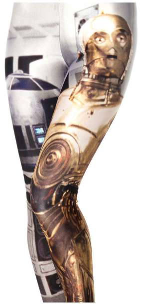 Iconic Sci-Fi Character Tights