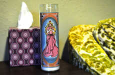 Cartoon Votive Candles