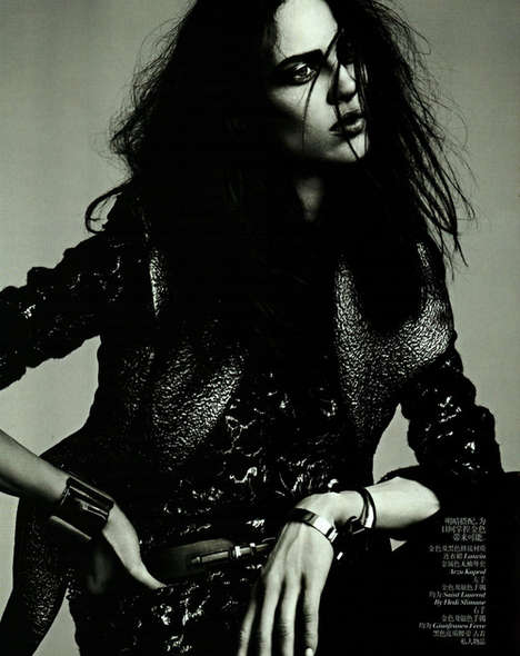 Distressed Androgynous Editorials