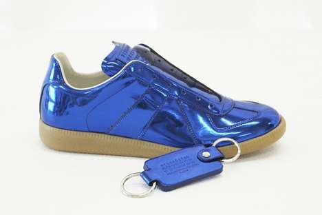 Radiantly Futuristic Sneakers