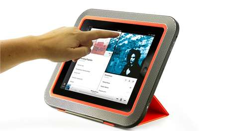 Sleek Stereo Tablet Cases
