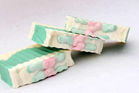 Mistletoe-Scented Soaps