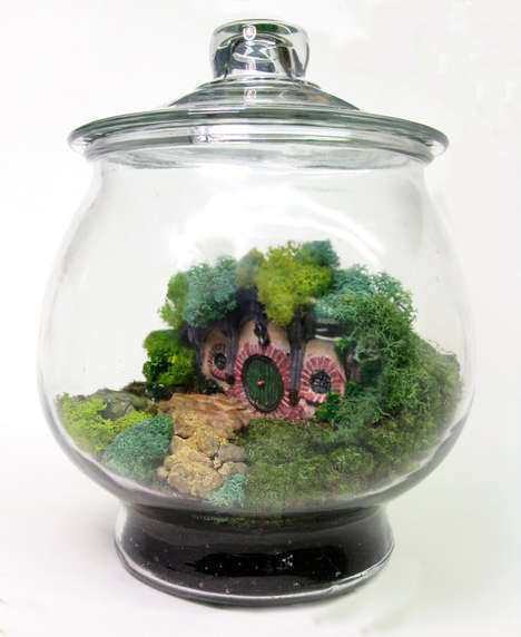 Lush Fantasy Film Dioramas